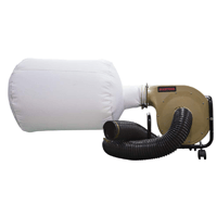 Bucktool 1HP Wall-mount Dust Collector